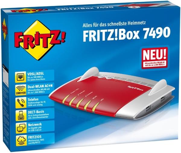 AVM FritzBox 7490 bei computeruniverse kaufen