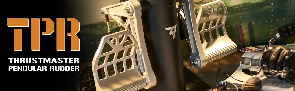 Thrustmaster TPR Premium Rudersystem bei computeruniverse kaufen