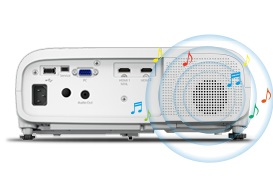 Epson EH-TW5650 mit leistungsstarkem Lautsprecher bei computeruniverse kaufen