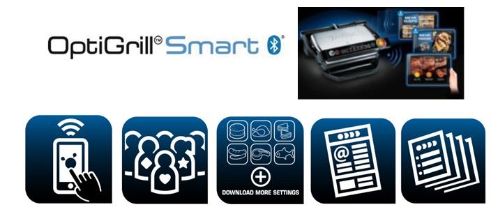 Tefal Optigrill Smart GC730D Highlights