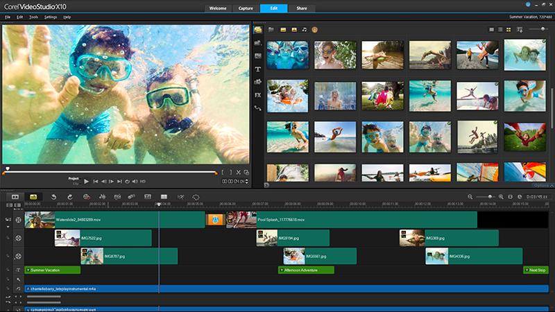 Corel VideoStudio Pro X10 bei computeruniverse