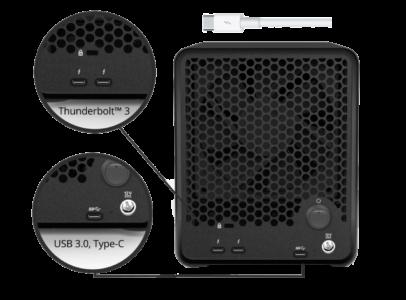 Drobo 5D3 Laufwerksgehäuse mit Thunderbolt 3 bei computeruniverse kaufen