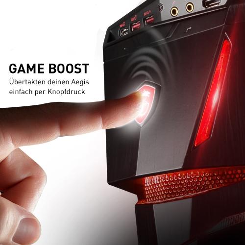 MSI Aegis Ti3 VR7RF Ultra Gaming PC mit Übertaktung auf Knopfdruck bei computeruniverse