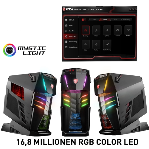 MSI Aegis Ti3 VR7RF Ultra Gaming PC mit MYstic Light RGB-Beleuchtung bei computeruniverse
