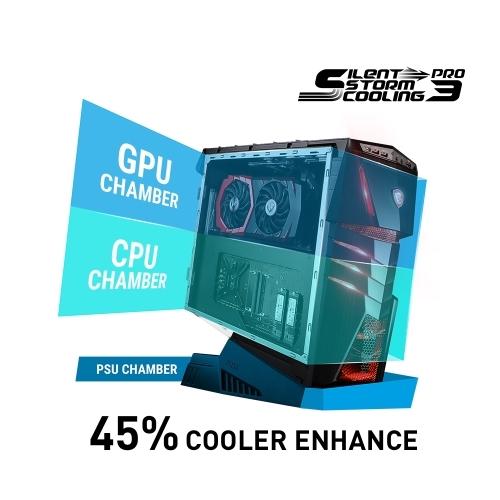 MSI Aegis Ti3 VR7RF Ultra Gaming PC mit Silent Stoorm Kühlsystem bei computeruniverse