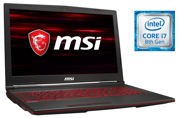 MSI GL63 8R-Series Gaming Notebook bei computeruniverse kaufen