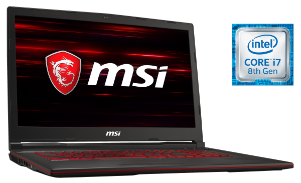 MSI GL73 8R Raider-Series Gaming Notebook bei computeruniverse kaufen