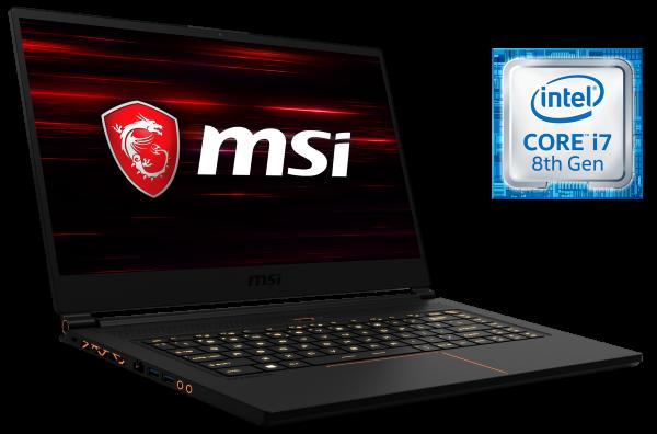 MSI GS65 8R Stealth Thin-Series Gaming Notebook bei computeruniverse kaufen