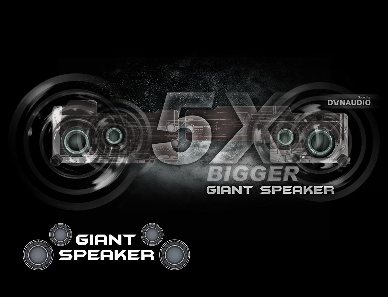 MSI GE7VR Gaming Notebook mit extragroßen Lautsprechern bei computeruniverse