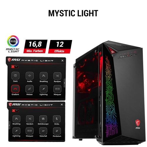 MSI Infinite A Gaming PC mit Mystic Light RGB-Beleuchtung bei computeruniverse
