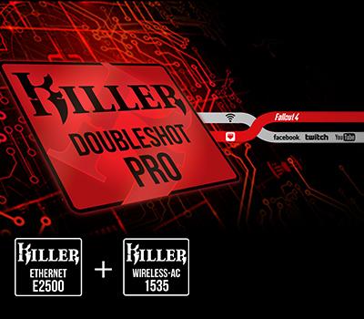 MSI GE7VR Gaming Notebook mit Killer DoubleShot Pro Netzwwerkkarte bei computeruniverse
