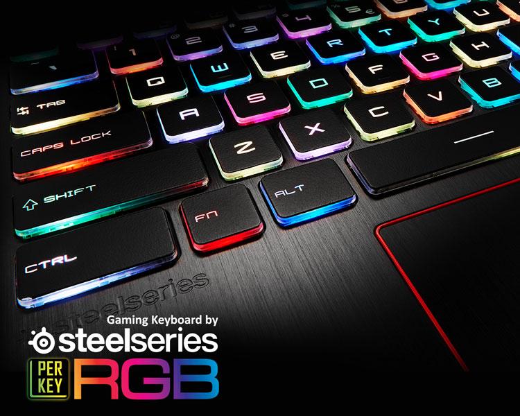 MSI GE73 Gaming Notebook mit Steelseries Tastatur bei computeruniverse