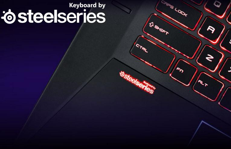 MSI GE73 Gaming Notebook mit RGB-beleuchteter Steelseries Tastatur bei compu teruniverse