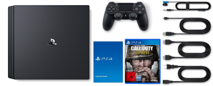 Sony PlayStation 4 Pro Lieferumfang