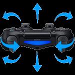 DualShock 4 v2 mit integriertem Bewegungssensor