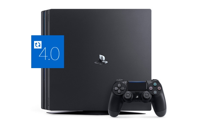 Sony PlayStation 4 Pro mit aktuellster Firmware