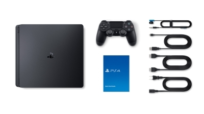 Sony PlayStation 4 Slim Lieferumfang