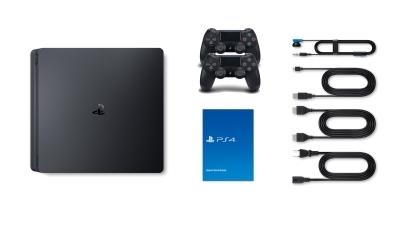 Sony PlayStation 4 Slim Lieferumfang