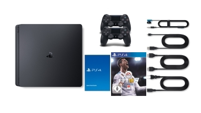<strong>Sony PlayStation 4 Slim</strong> Lieferumfang