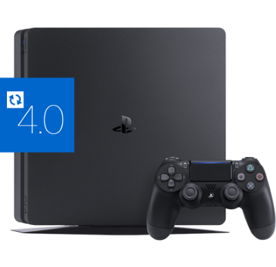 <strong>Sony PlayStation 4 Slim</strong> mit aktuellster Firmware