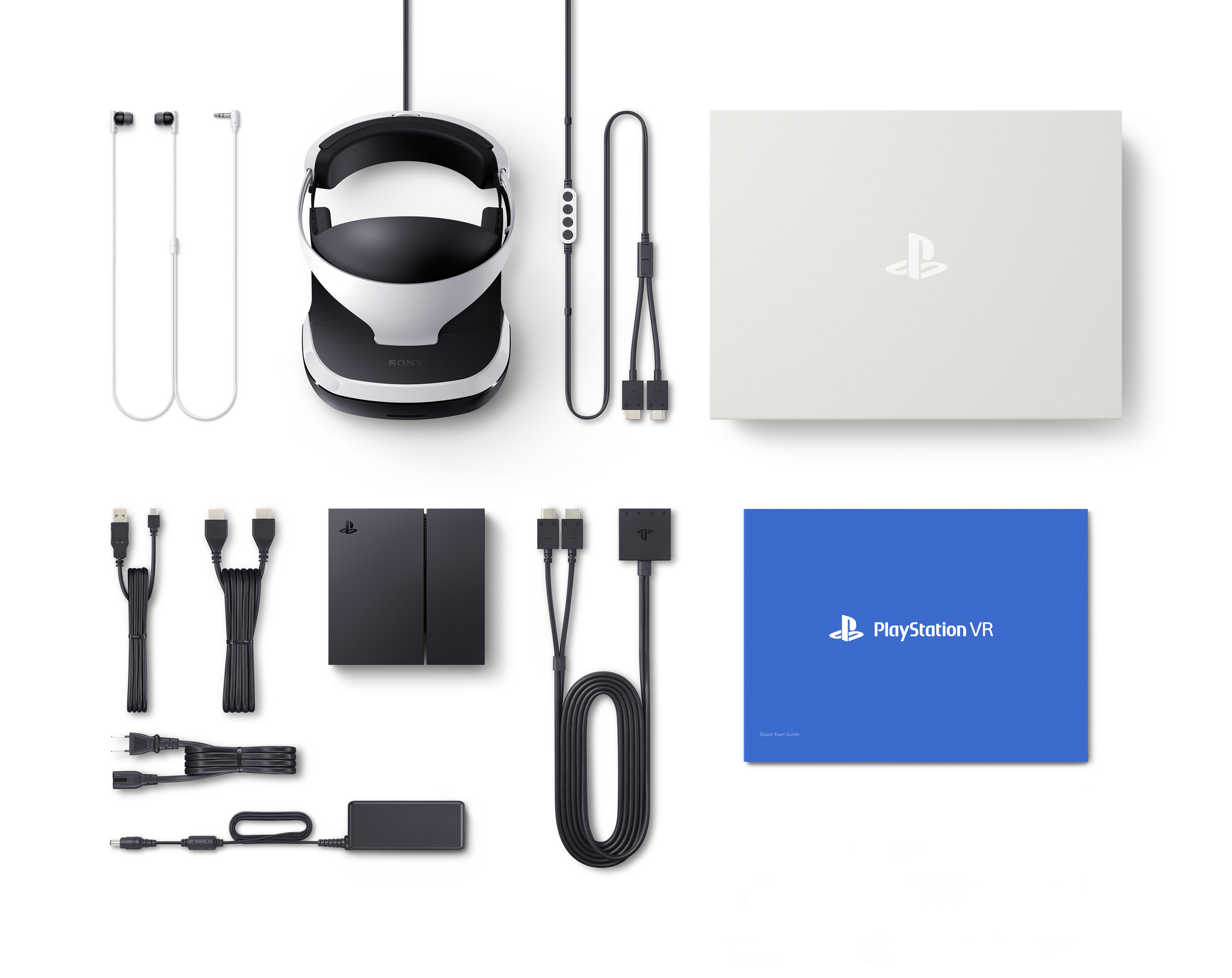 PlayStation VR includes