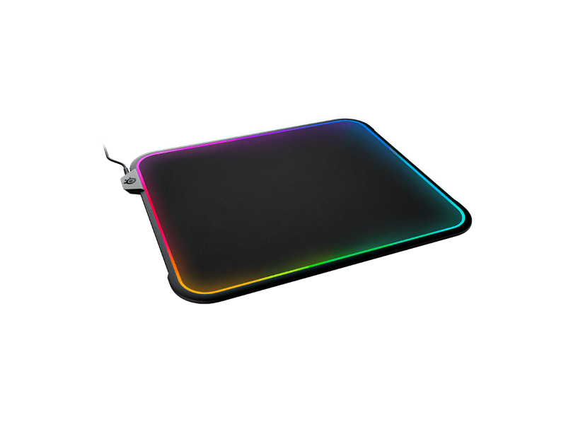 SteelSeries QCK Prism doppelseitiges Gaming Mauspade mit RGB-Beleuchtung bei computeruniverse kaufen