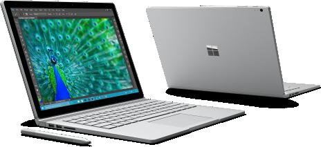 <strong>Microsoft Surface Book</strong> - leistungsstarke Ausstattung