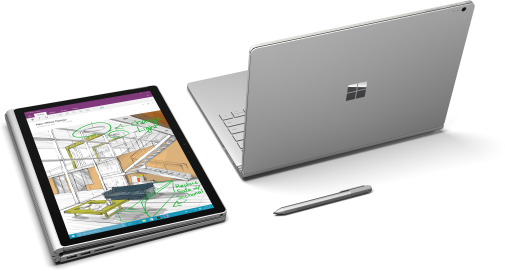 <strong>Microsoft Surface Book</strong> - ideal für Office