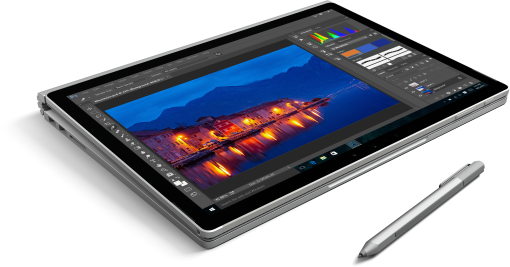<strong>Microsoft Surface Book</strong> - moderne Technologie