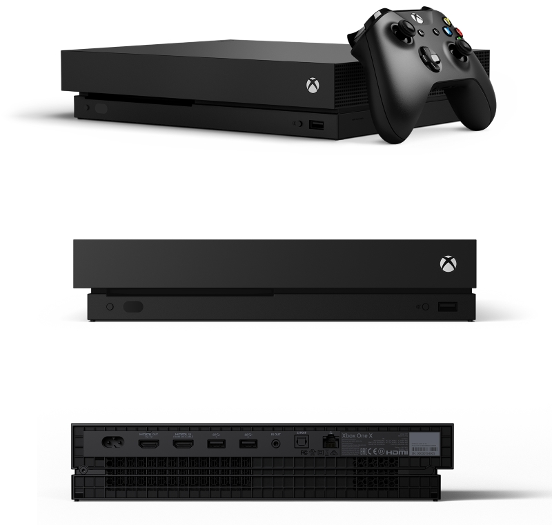 Microsoft Xbox One X Standard Edition 4K Gamingkonsole bei computeruniverse bestellen