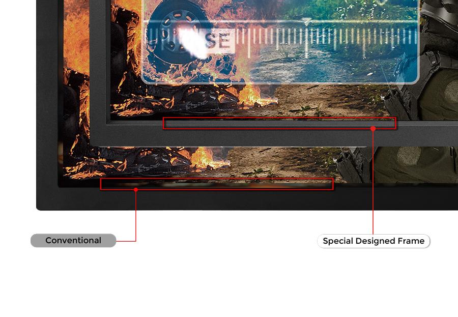 BenQ Zowie XL2540 240 Hz Monitor mit speziellem Design