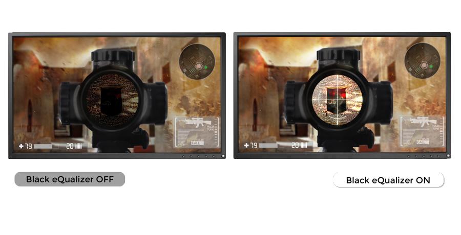 BenQ Zowie XL2540 240 Hz Monitor mit Black eQualizer