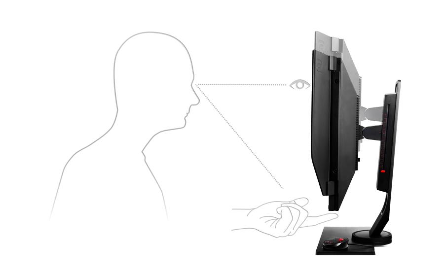 BenQ Zowie XL2540 240 Hz Monitor mit anpassbarer Winkeleinstellung
