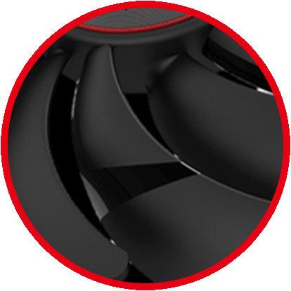 Dispersion fan blade