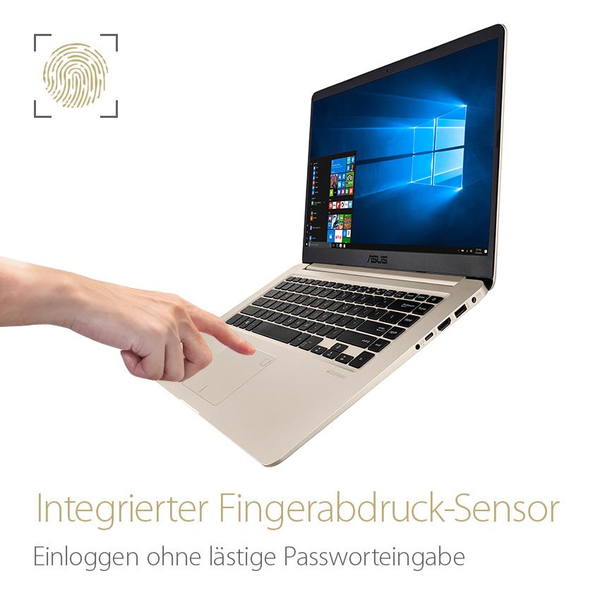 Fingerabdruck-Sensor - Schnelle Windows Hello Logins